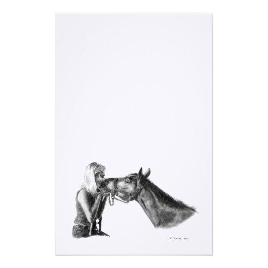 Horse Kisses Stationery