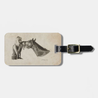 Horse Kisses Tags For Luggage