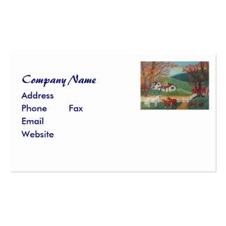 Horse Landscape Business Card