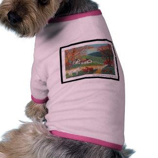 Horse Landscape Doggie T-shirt