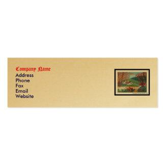 Horse Landscape Mini Business Card