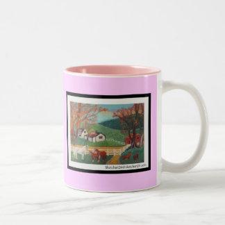 ,Horse Landscape Mug