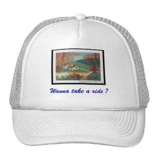 Horse Landscape Trucker Hat
