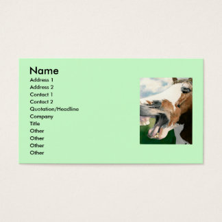 Horse Laugh Business Card