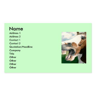 Horse Laugh Double-Sided Standard Business Cards (Pack Of 100)