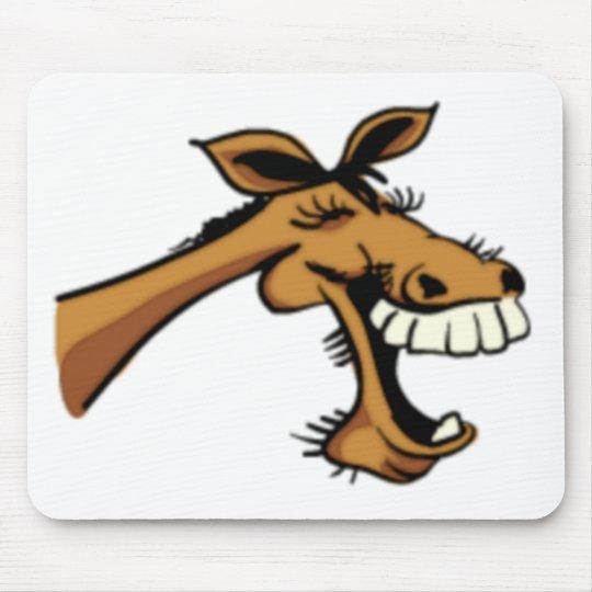 Horse Laugh Mouse Pad