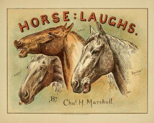5f5dfc5444b4 Horse Laughs Vintage Color Cover Art Print