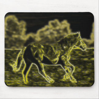 Horse (Light Horse) Mouse Pad