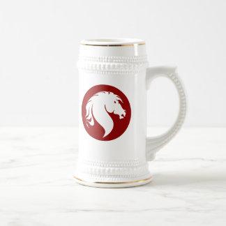 Horse Logo Stein
