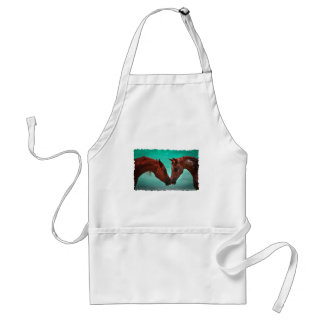 Horse Love Adult Apron