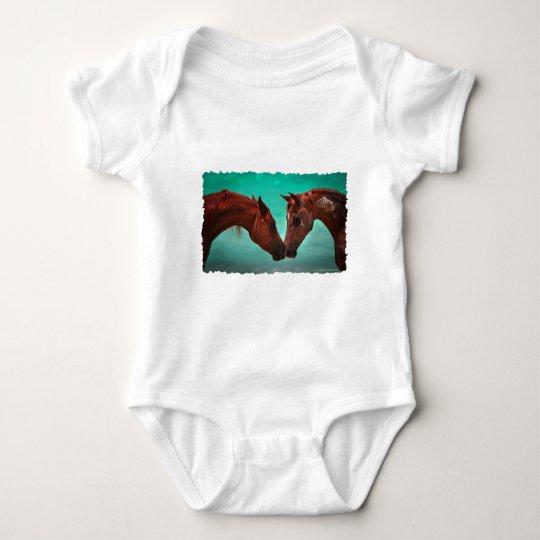 Horse Love Baby Bodysuit