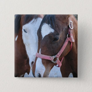 Horse Love Button