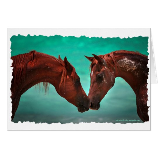 Horse Love Card