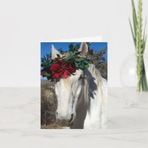 Horse Love Holiday Card
