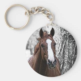 Horse Love Key Chain