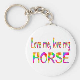 Horse Love Keychain