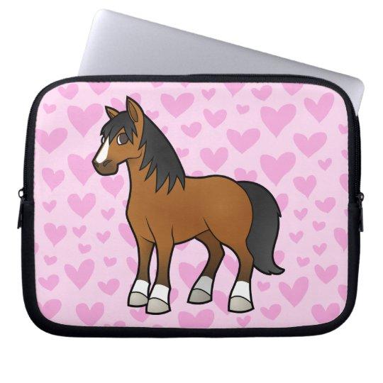 Horse Love Laptop Sleeve