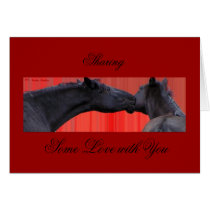 Horse Love Note Card