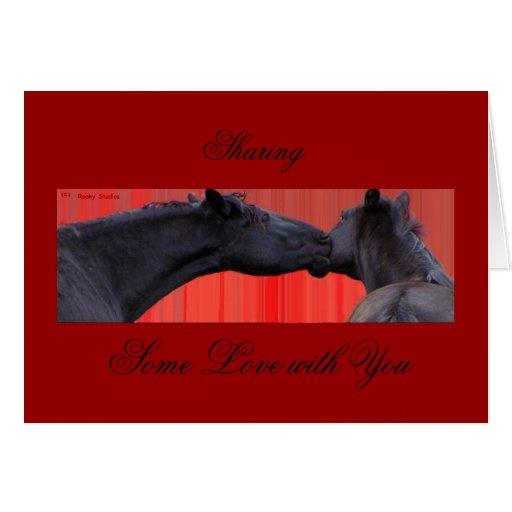 Horse Love Note Card
