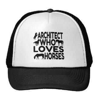 Horse Lover Architect. Trucker Hat