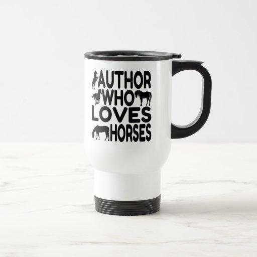 Horse Lover Author Mug