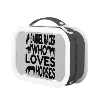 Horse Lover Barrel Racer Lunch Box
