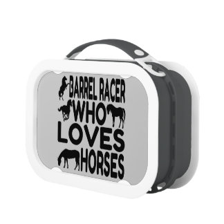 Horse Lover Barrel Racer Yubo Lunch Boxes
