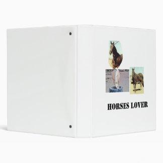 Horse Lover Binder