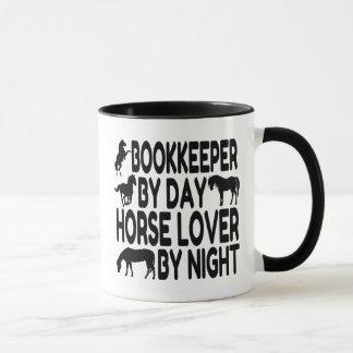 Horse Lover Bookkeeper Mug