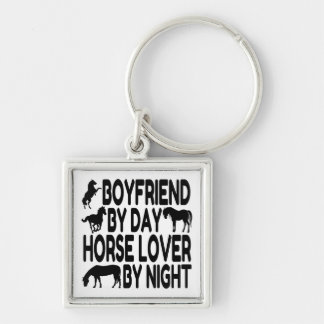 Horse Lover Boyfriend Keychain