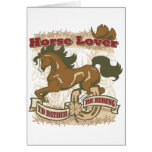 Horse Lover Card