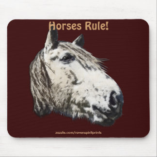 Horse Lover Conservation Mousepad