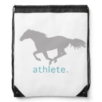 Horse Lover Drawstring Bag