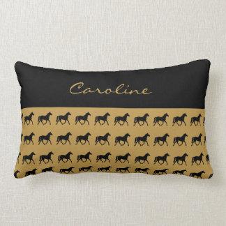 Horse Lover Equestrian Lumbar Pillow