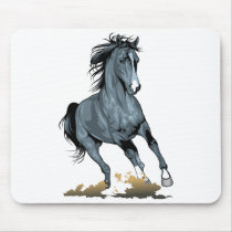 Horse Lover Equestrian Pony Horses Cowgirl Cowboy Mouse Pad