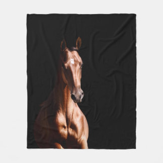 Horse Lover Fleece Blanket