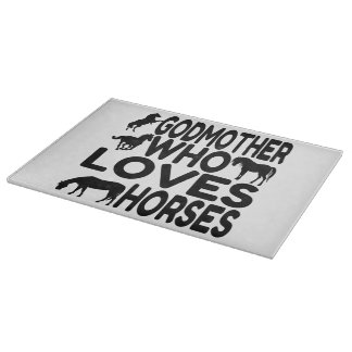 Horse Lover Godmother Cutting Board