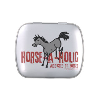 Horse Lover Jelly Belly Candy Tin