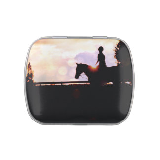 Horse Lover Jelly Belly Candy Tins