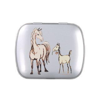 Horse Lover Jelly Belly Tin