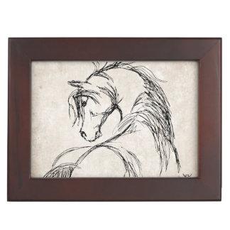 Horse Lover Memory Box