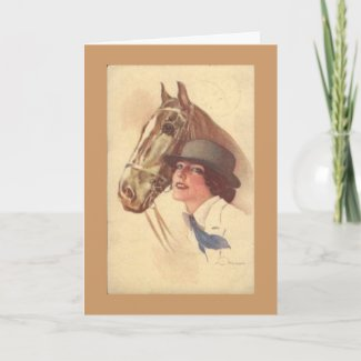 Horse Lover Mother's Day Card card
