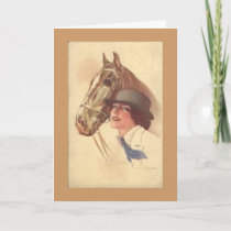 Horse Lover Mother's Day Card