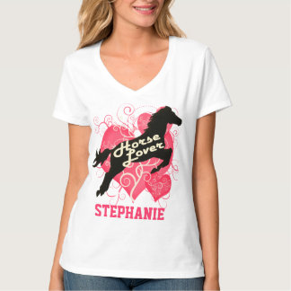 Horse Lover Personalize Stephanie Customized Shirt