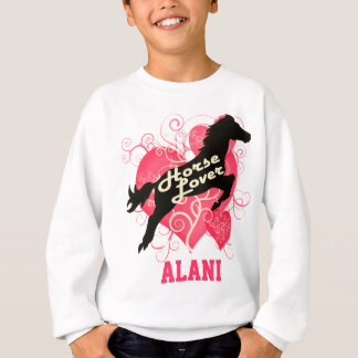 Horse Lover Personalized Alani Sweatshirt