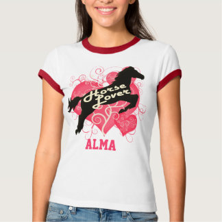 Horse Lover Personalized Alma T-Shirt