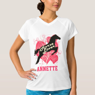 Horse Lover Personalized Annette T-Shirt