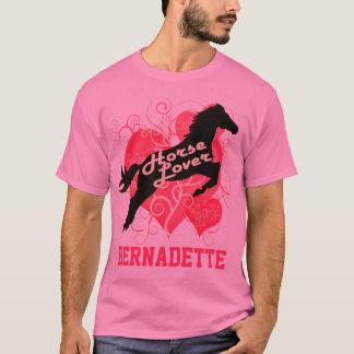 Horse Lover Personalized Bernadette T-Shirt