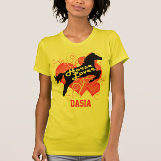 Horse Lover Personalized Dasia T-Shirt