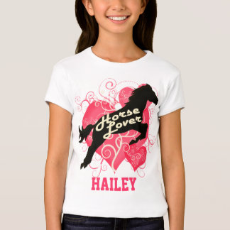 Horse Lover Personalized Hailey T-Shirt